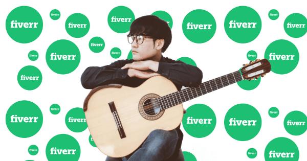 Fiverr Guitar earn online musician - Blog